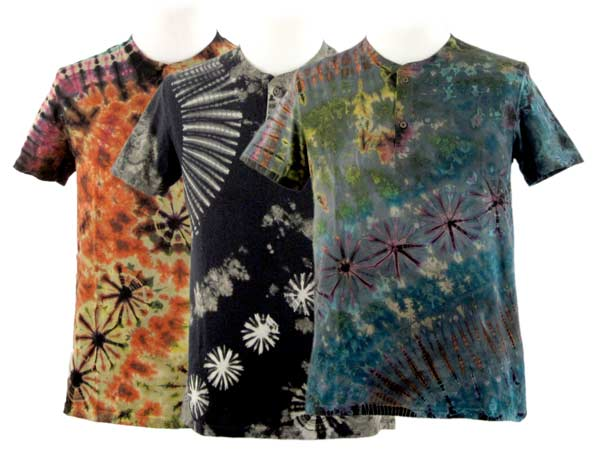 Men's Short Sleeve Henley Shirts - Collection