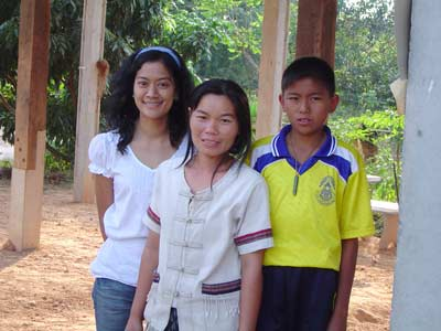 Schoolday in the Thai village